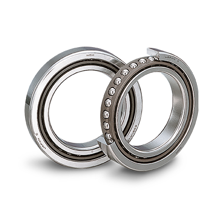 NSKHPS Precision Angular Contact Ball Bearings