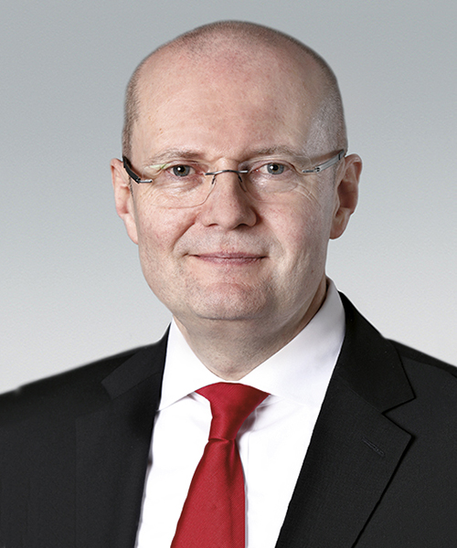 Dr Ulrich Nass, Chief Operating Officer, NSK Europe Ltd.