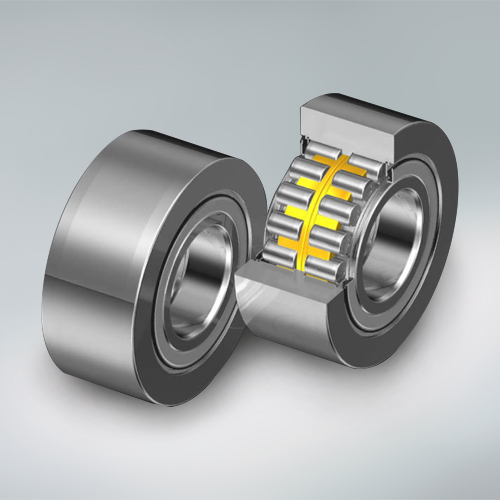 Long-life sealed backup roll bearings